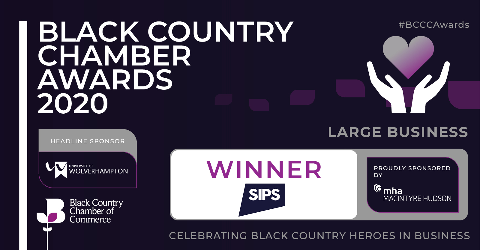 Black Country Chamber Awards 2020 - Winner